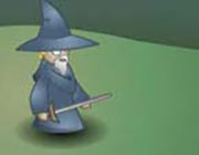 Play Angry Old Wizard Game