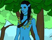 Play Avatar World Coloring on Play26.COM