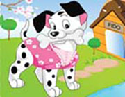 Play Lucu Puppy Dress Up  on Play26.COM