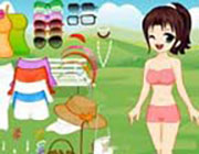 Play Śliczne Wendy Dress Up  on Play26.COM