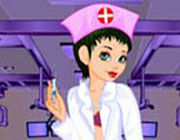 Play Doktor Girl Dressup  on Play26.COM