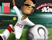 Play DTZ World Cup Keepy Ups on Play26.COM