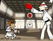 Play Karate Monkey on Play26.COM
