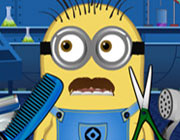 Play Minion at beard salon on Play26.COM