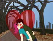 Play Outdoor Kissing Game