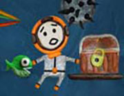 Play Plasticine Diver on Play26.COM