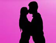 Play Silhouette Kissing on Play26.COM