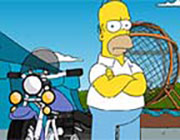 Play Simpsons Ball of Death Game