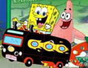 Play Spongebob Bus Rush  on Play26.COM