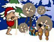 Play Stoneage Santa on Play26.COM