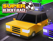 Play SUPER BLOCKY RACE on Play26.COM