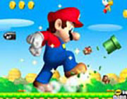 Play Super Mario Bros Flash- on Play26.COM