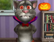 Play Tom cat halloween fun on Play26.COM