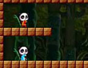 Play Twin Panda Adventure on Play26.COM